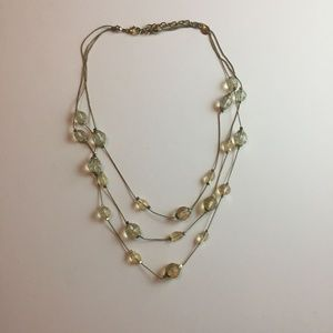 #1087 LC Beaded Layered Necklace